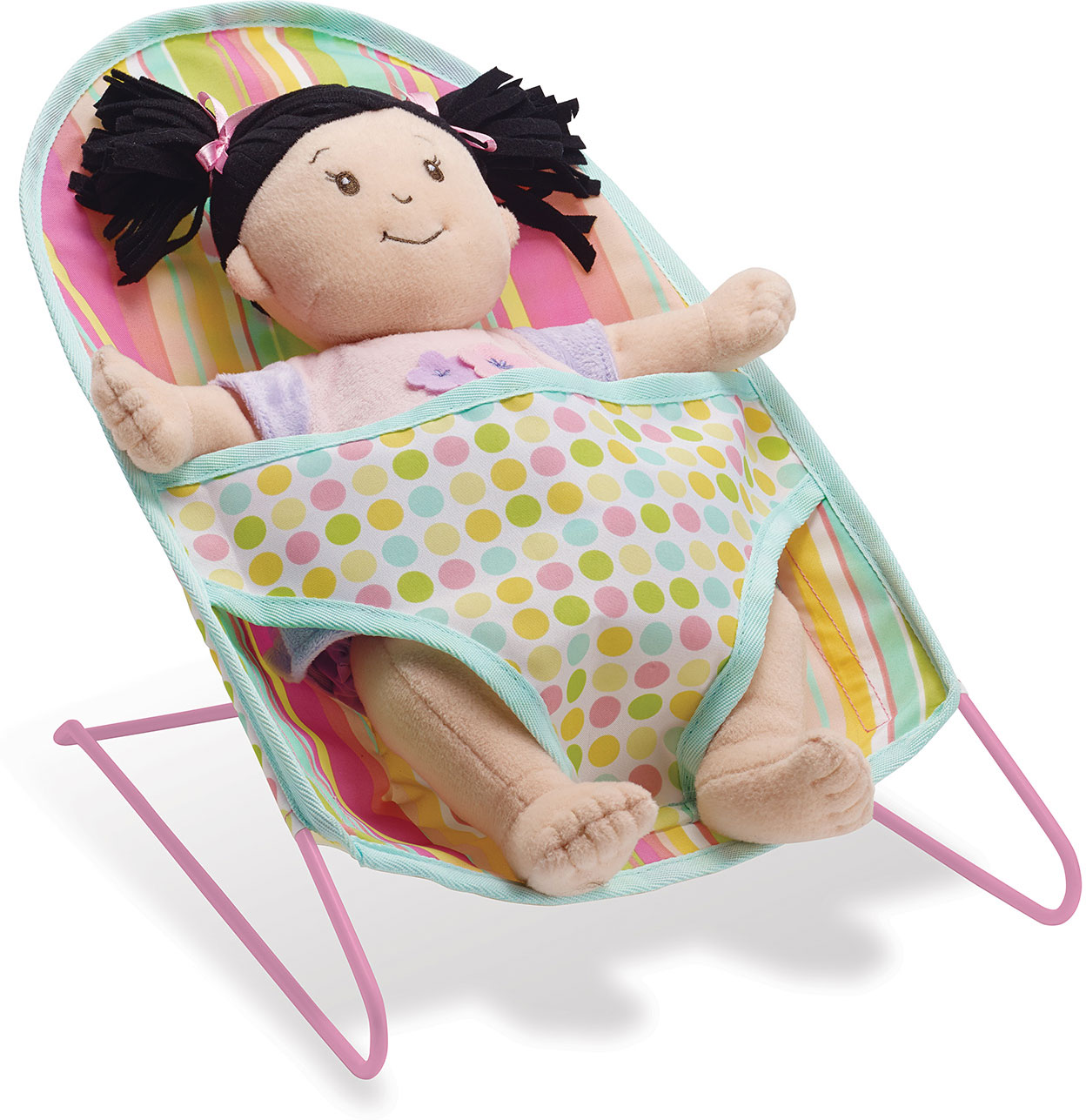 Baby Stella Bouncy Chair Rainbow Toys