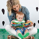 Big Top Animal Train Baby Book
