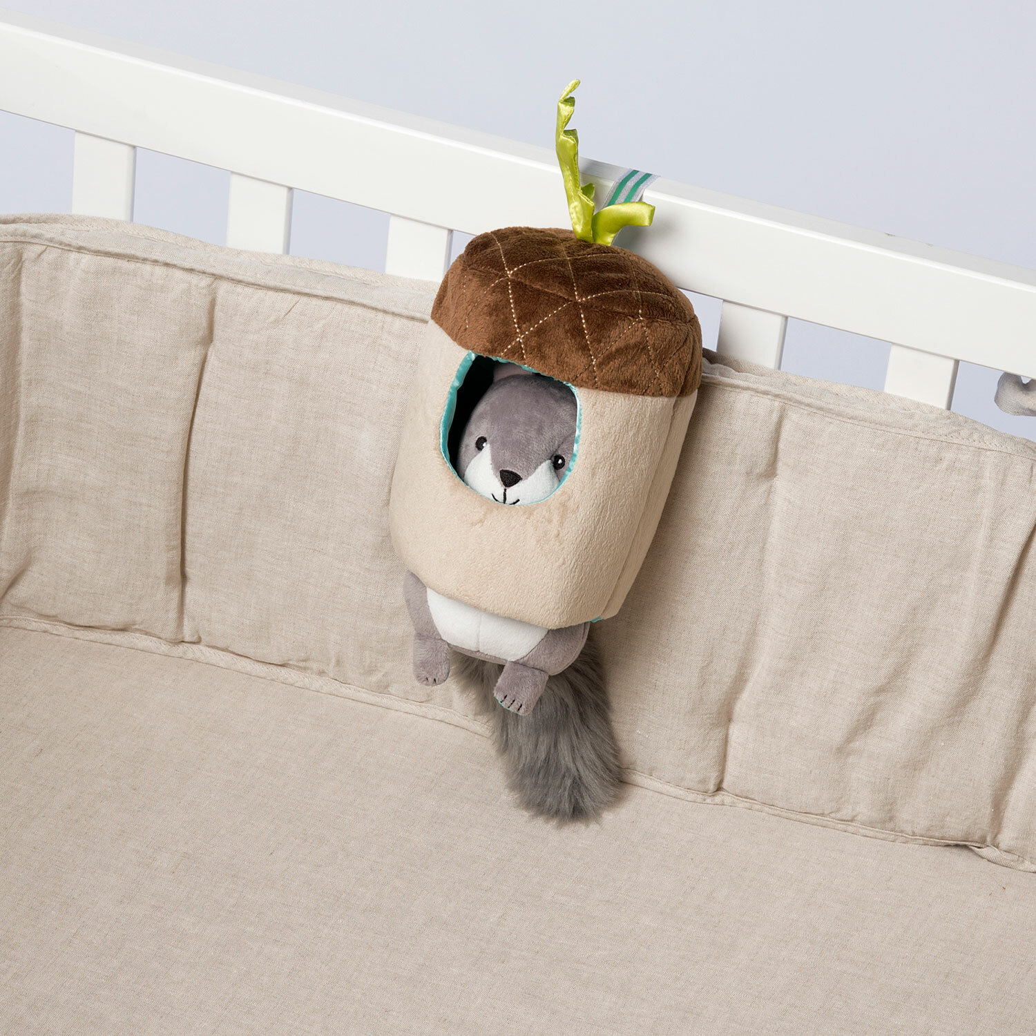 Lullaby Squirrel Musical Pull Toy Quinnderella S Big Fun