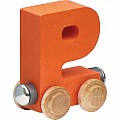 Nametrain Bright Color Letter P