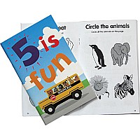 Birthday Activity Book Boy Age 5