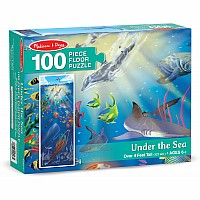 Under the Sea Floor Puzzle(100 pc)