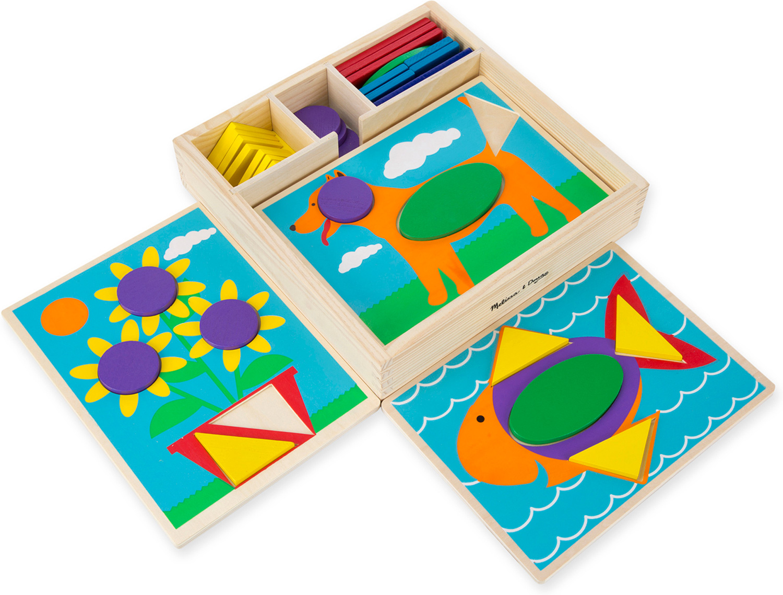 Beginner Pattern Blocks Melissa Amp Doug 528