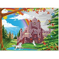 0060 pc Enchanted Castle Cardboard Jigsaw