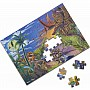 0060 PC Land of Dinosaurs Cardboard Jigsaw