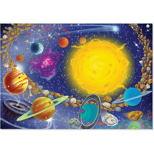 0100 pc Solar System Cardboard Jigsaw - 4 Kids Books & Toys