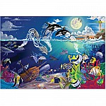 0200 PC Underwater Playground Cardboard Jigsaw