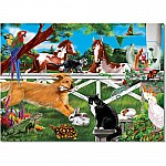 0030 PC Playful Pets Cardboard Jigsaw