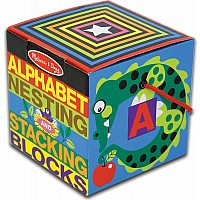 Alphabet Nesting and Stacking Blocks (UC)
