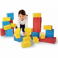 Jumbo Cardboard Blocks (24 pc)