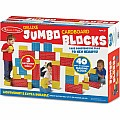 Deluxe Jumbo Cardboard Blocks (40 pcs)