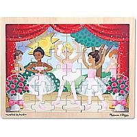 Ballet Performance Wooden Jigsaw Puzzle  48pc