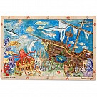96-Piece Wooden Jigsaw Puzzle, Sunken Treasure