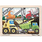 Construction Site Jigsaw (12 PC