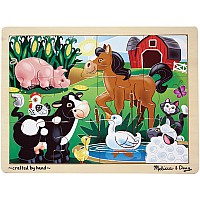 On the Farm Jigsaw (12 pc)