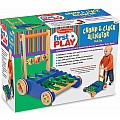 Chomp  Clack Alligator PUSH Toy