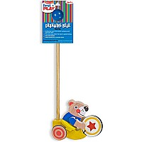 Drumming Bear PUSH Toy