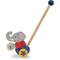 Clapping Elephant PUSH Toy
