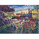 0200 pc Eagle Canyon Railway Cardboard Jigsaw