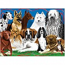 0200 pc Fetching Friends Cardboard Jigsaw