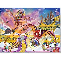 0500 pc Dragon Storm Cardboard Jigsaw