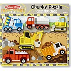 Construction Chunky Puzzle (6pc)