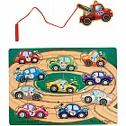 Tow Truck Magnetic Puzzle Game