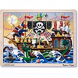Jigsaw Pirate Adv. 48pc