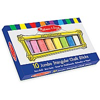 Chalk Sticks Triangle Jumbo10