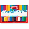 Triangular Crayon Set (12 PC