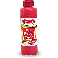 Red Poster Paint (8 Oz)