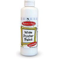 White Poster Paint (8 oz)
