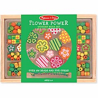 Flower Power / Gleeful Garden Bead Set
