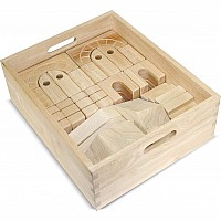 Architectural Wooden Unit Blocks