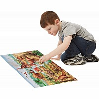 Dinosaurs Floor Puzzle (48 pc)