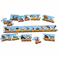 Alphabet Train Floor (28 PC