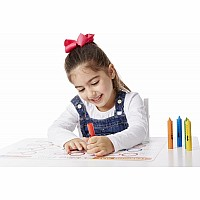 Learning Mat Crayons (5 colors)