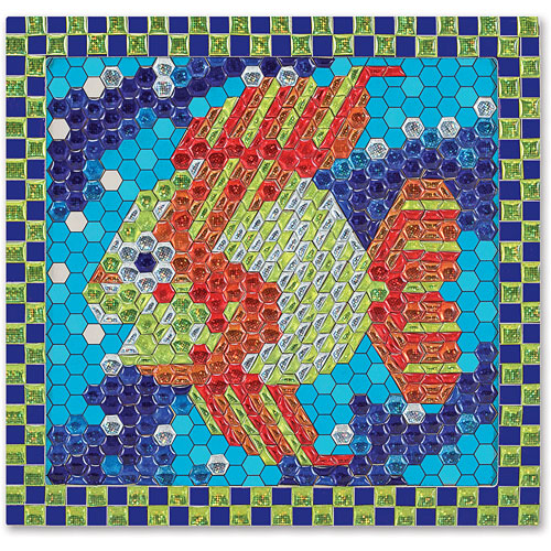 Melissa Doug Tropical Fish Peel Press Sticker By Numbers