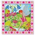 Peel  Press Sticker By Number  Flower Garden Fairy