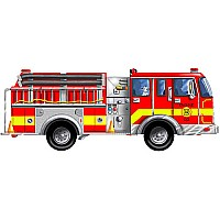 Puzzle Giant Fire Truck Floor