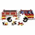 Giant Fire Truck Floor Puzzle 24 PC