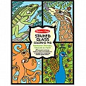 Stained Glass Coloring Pad  Animals