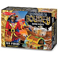 Melissa & Doug Pirate's Bounty Puzzle (100 pc)
