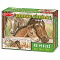 Horse Corral Floor Puzzle 48 PC