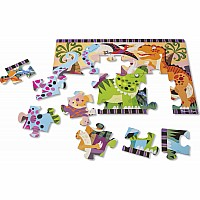Dinosaur Dawn Floor Puzzle (24 pc)