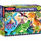 Dinosaur Dawn Floor Puzzle (24pc)