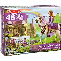 Fairy Tale Castle Floor Puzzle (48 PC