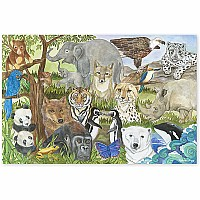 Endangered Species Floor Puzzle (48 PC