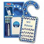 Door Hanger  Blue