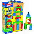 100 Wood Blocks Set Melissa and Doug